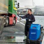 Heißwasser Hochdruckreiniger - LKW Reinigung