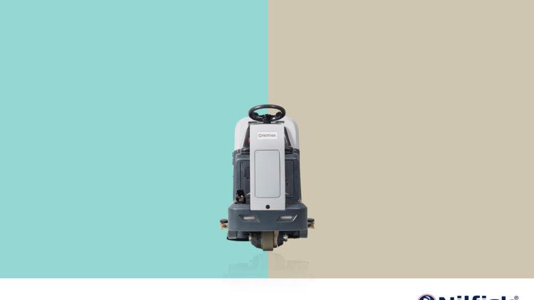 Neue Aufsitzscheuermaschine von Nilfisk zum Einführungspreis